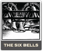 The Six Bells Rochester Logo