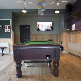 The Six Bells Rochester Pool Table